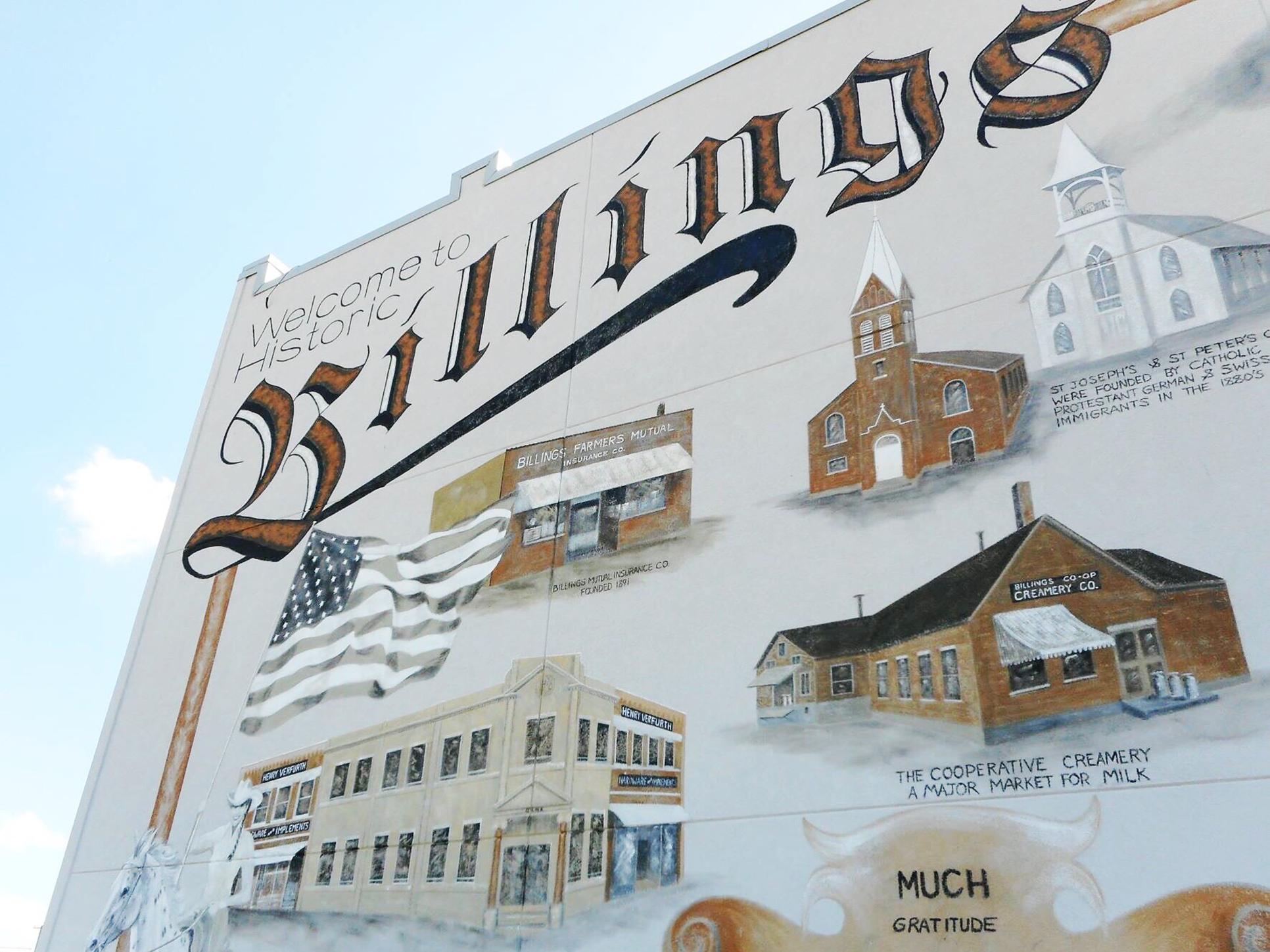 Historical Mural of Billings