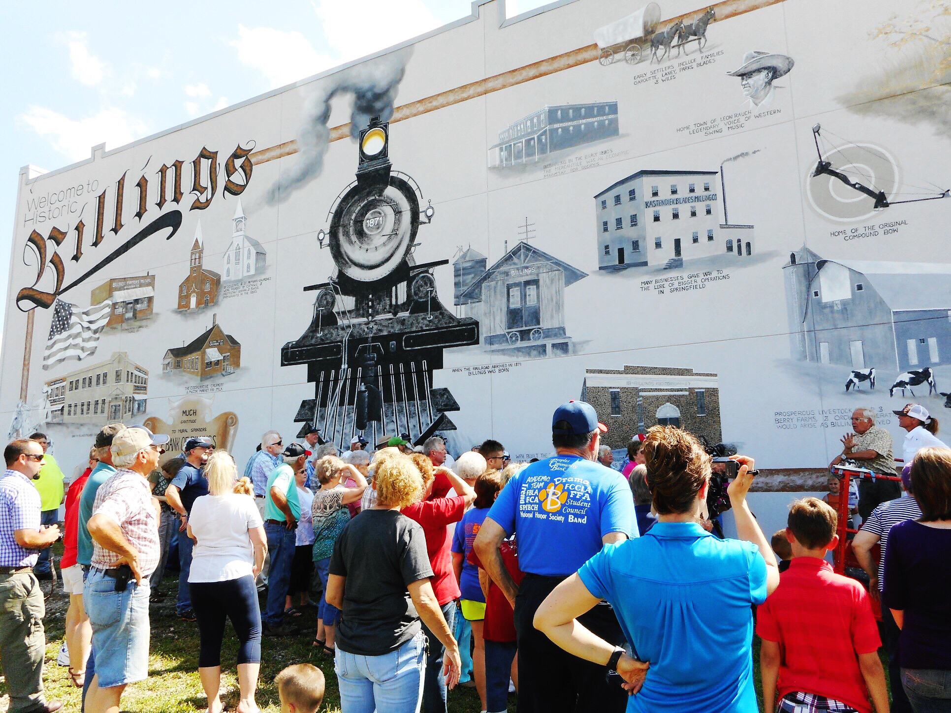 Historical Mural of Billings
