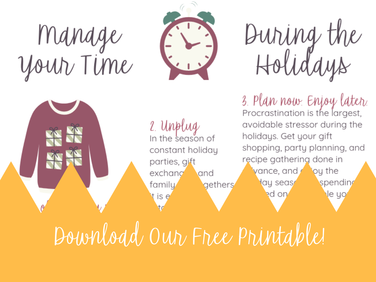 Download Our Free Time-Management Printable!