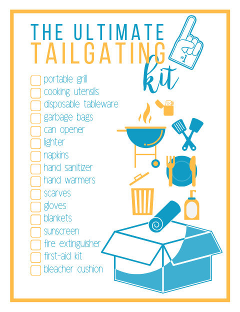 The Ultimate Tailgating Kit